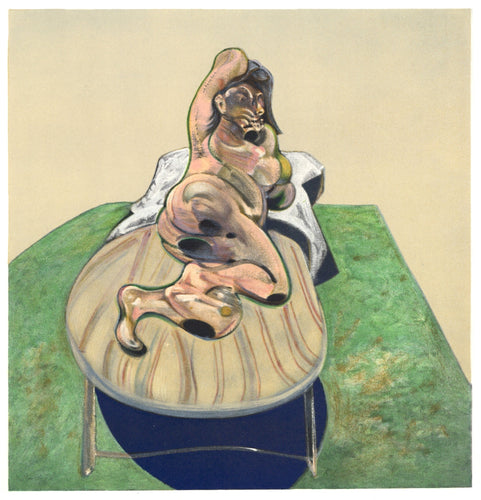 After Francis Bacon - Henrietta Moraes, 1966