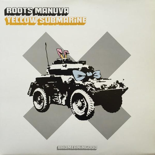 After Banksy - Roots Manuva- Yellow Submarine, 2001