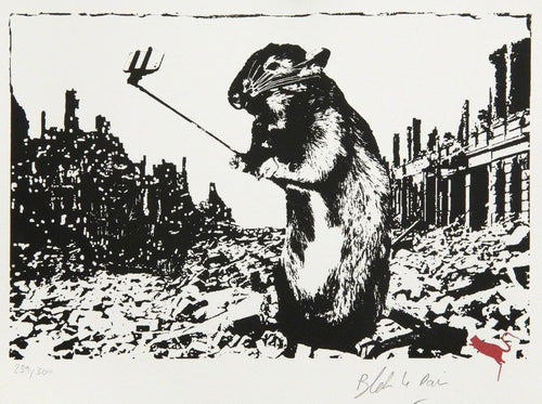 Blek Le Rat - Rat After the Apocalypse, 2017