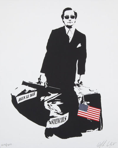 The Man Who Walks Through Walls (U.S Flag), 2008
