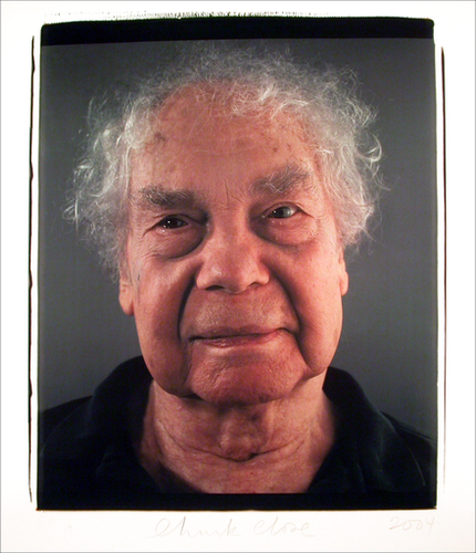 Chuck Close - Merce Cunningham, 2004