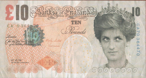 Banksy - Di-Faced Tenner, 2004