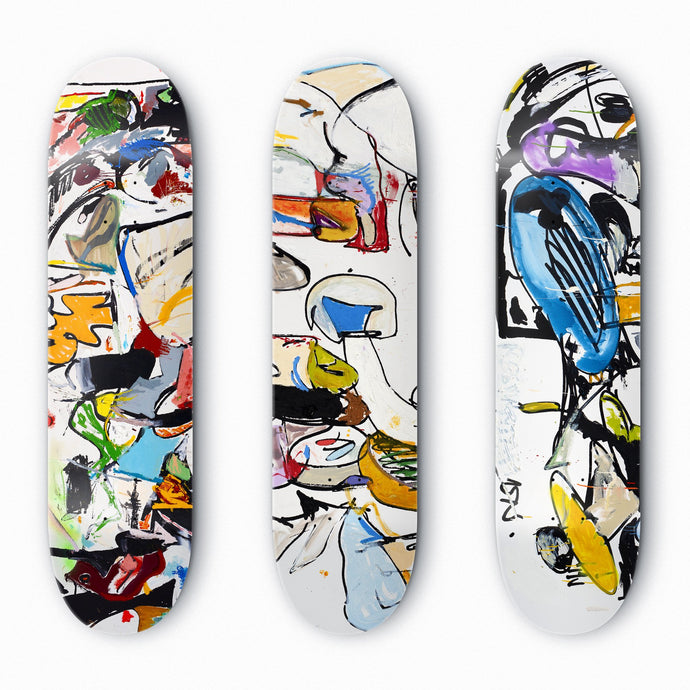 Skate Decks (Set of Three), 2016