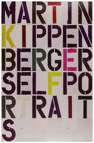 Christopher Wool - Martin Kippenberger Self-Portraits, 2005