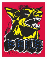 Faile - Dog Black Light, 2015