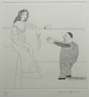 David Hockney - Pleading for the Child, 1969