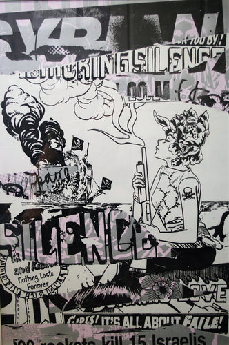 Faile - Untitled (Silence), 2006