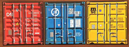 Thomas Eigel - Travellers Shipping Containers, 2012