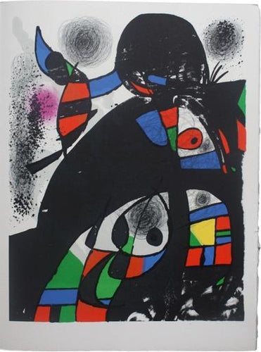 Joan Miró - Untitled (from San Lazzaro et ses amis portfolio), 1975