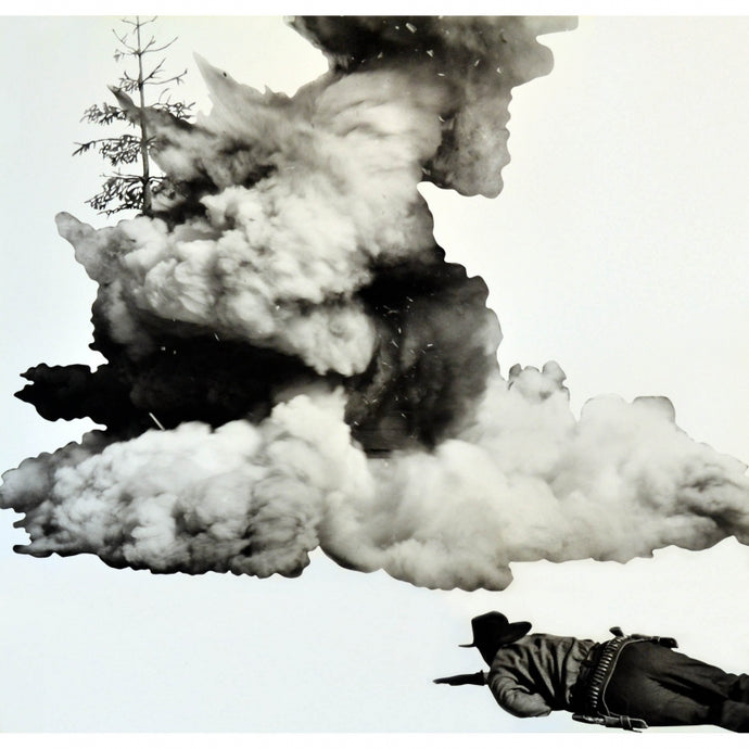 Smoke, Tree, Shadow and Person, 2011