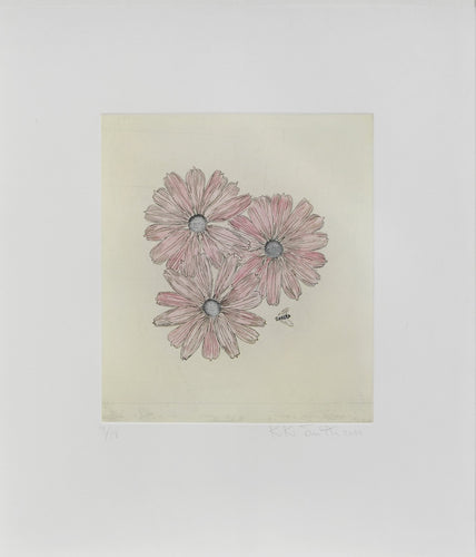 Flower with Bee, 2000