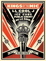 Shepard Fairey - Kings of the Mic, 2013