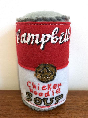 Lucy Sparrow - Campbell's Chicken Noodle Soup, 2014