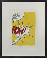 Sophie Matisse - POW (After Roy Lichtenstein), 2002