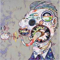 Takashi Murakami - Head of George Dyer, 2016