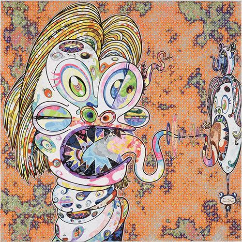 Takashi Murakami - Head of Isabel Rawthorne, 2016