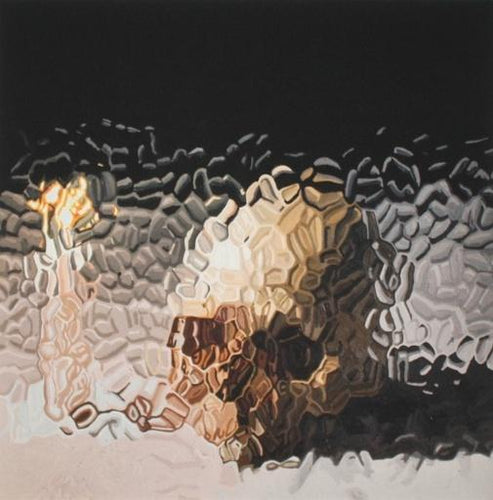 Marcus Harvey - Skull and Candle, 2012
