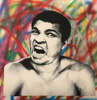 Mr.Brainwash - Legendary Ali 1, 2017
