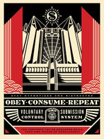 Shepard Fairey - Church of Consumption, 2017