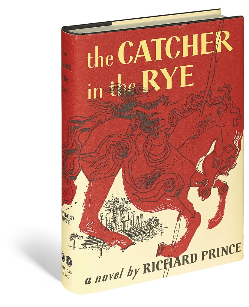 Richard Prince The Catcher In The Rye Book 2011 Artsnap