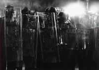 Robert Longo - Untitled (Riot Cops) , 2017