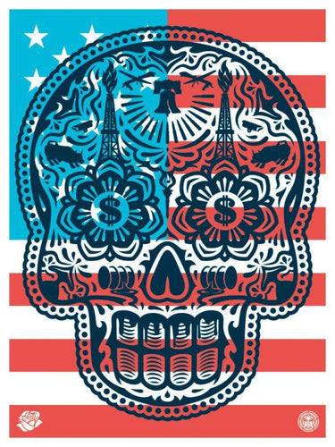 Shepard Fairey - Power & Glory - Merica, 2016