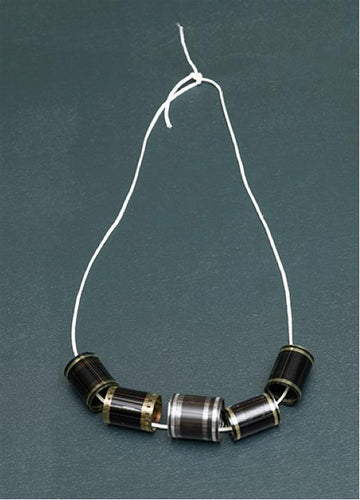 "Tacita Dean - Necklace €"" Film reels, 2012"