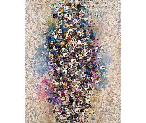 Takashi Murakami - Who Is Affraid of Red, Blue, etc, 2011