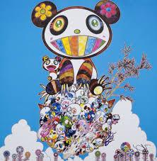Takashi Murakami - The Pandas Say They're Happy, 2014