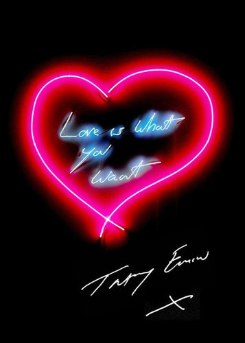 Tracey Emin - Love is What You Want, 2015
