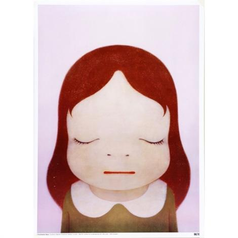 Yoshitomo Nara - Cosmic Girl (Eyes Shut), 2008