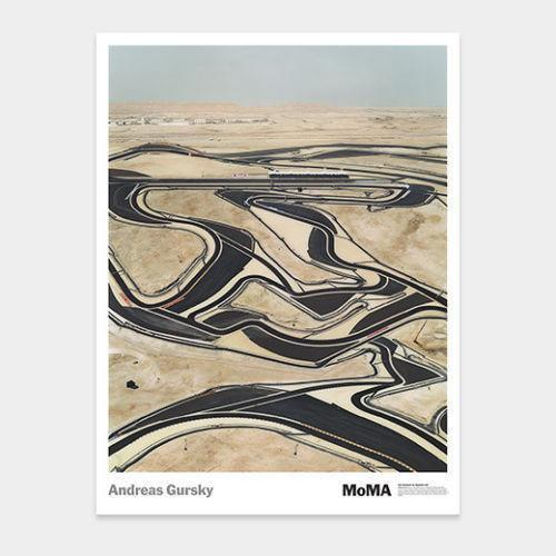 Andreas Gursky - Bahrain poster, 2005