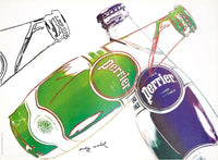 After Andy Warhol - Perrier white, 1983