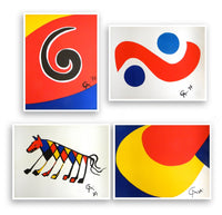 Skyswirl, Skybird, Beastie and Convection (set of 4), 1975