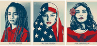 Shepard Fairey - We the people, 2017