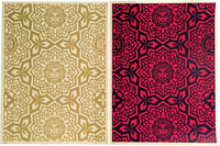 Shepard Fairey - Yen Pattern Print (set of 2), 2007
