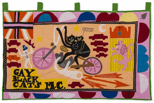 Grayson Perry - Gay Black Cats MC , 2017