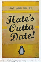 Harland Miller - Hates Outta Date, 2017