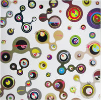 Takashi Murakami - Jellyfish Eyes White 4, 2016