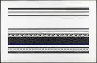 Roy Lichtenstein - Entablature IX, 1976