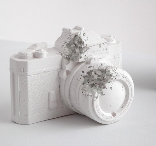 Daniel Arsham - Eroded Camera, 2012