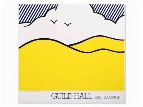 Roy Lichtenstein - Guild Hall East Hampton, 1980