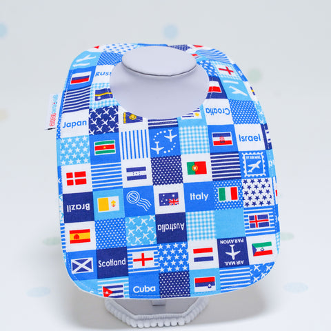 Baby Bib - Flags