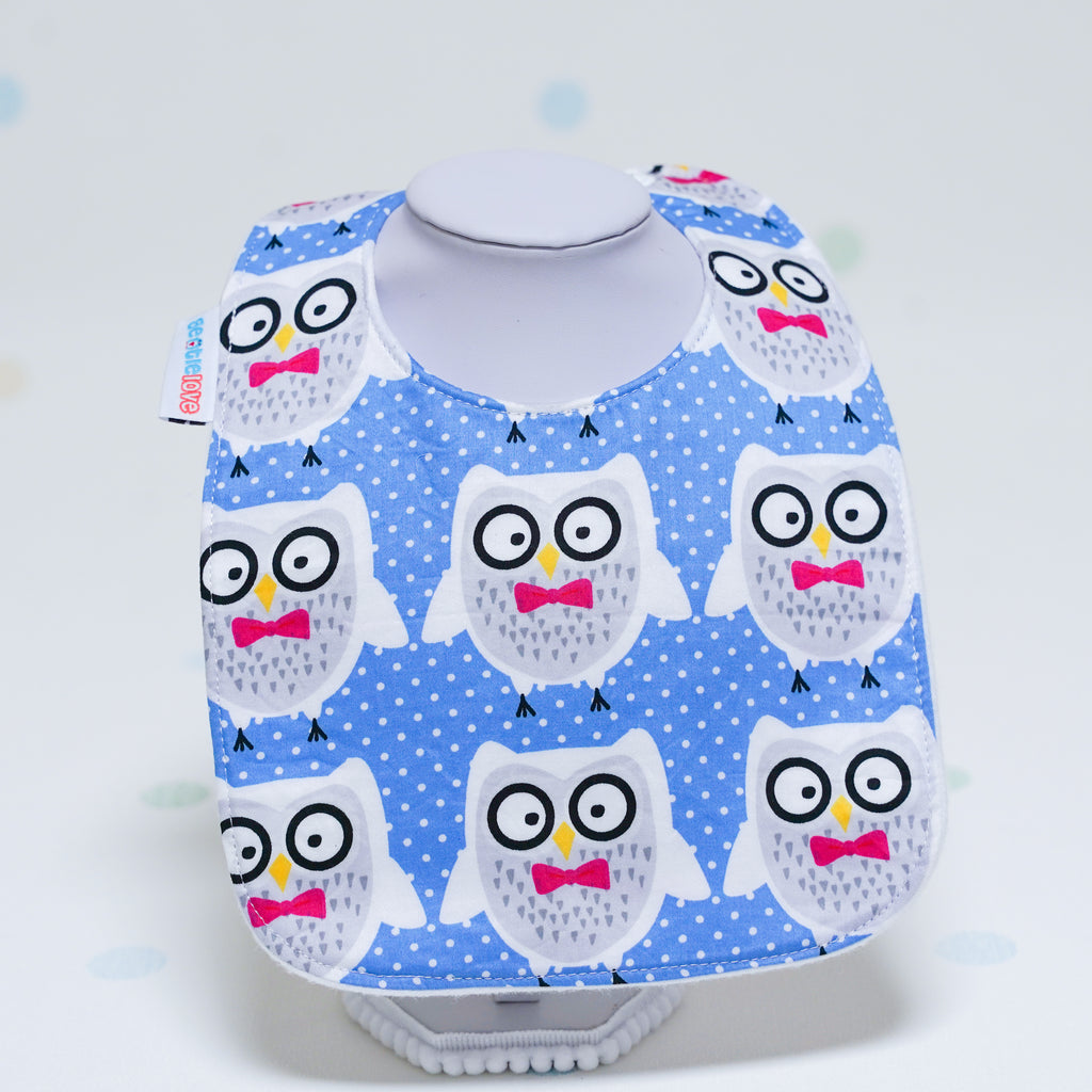 Baby Bib - Mr Owl