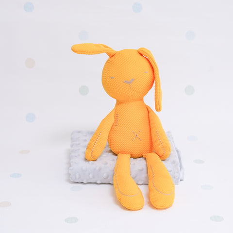 Sensory Cotton Bunny - Yellow