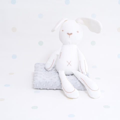 Sensory Cotton Bunny - White
