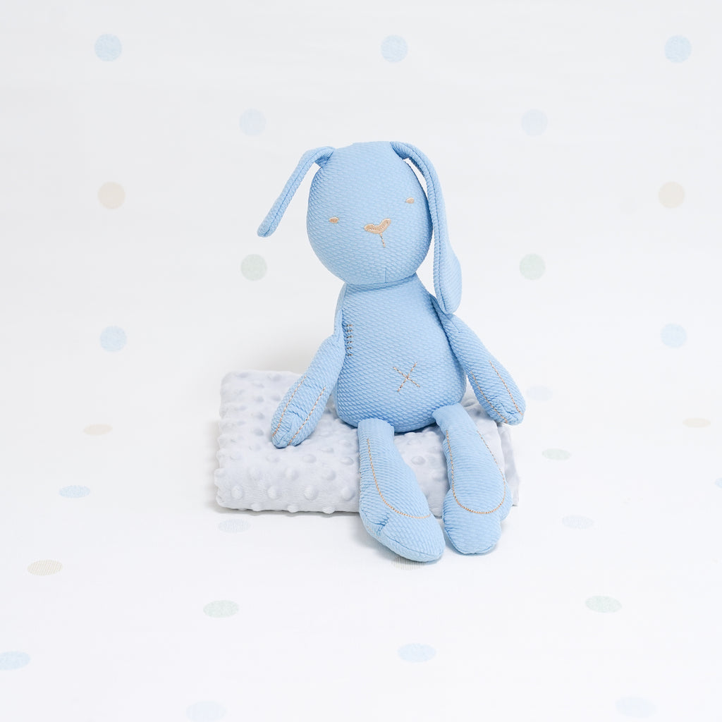 Sensory Cotton Bunny - Blue