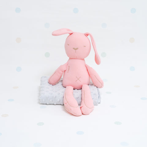 Sensory Cotton Bunny - Pink