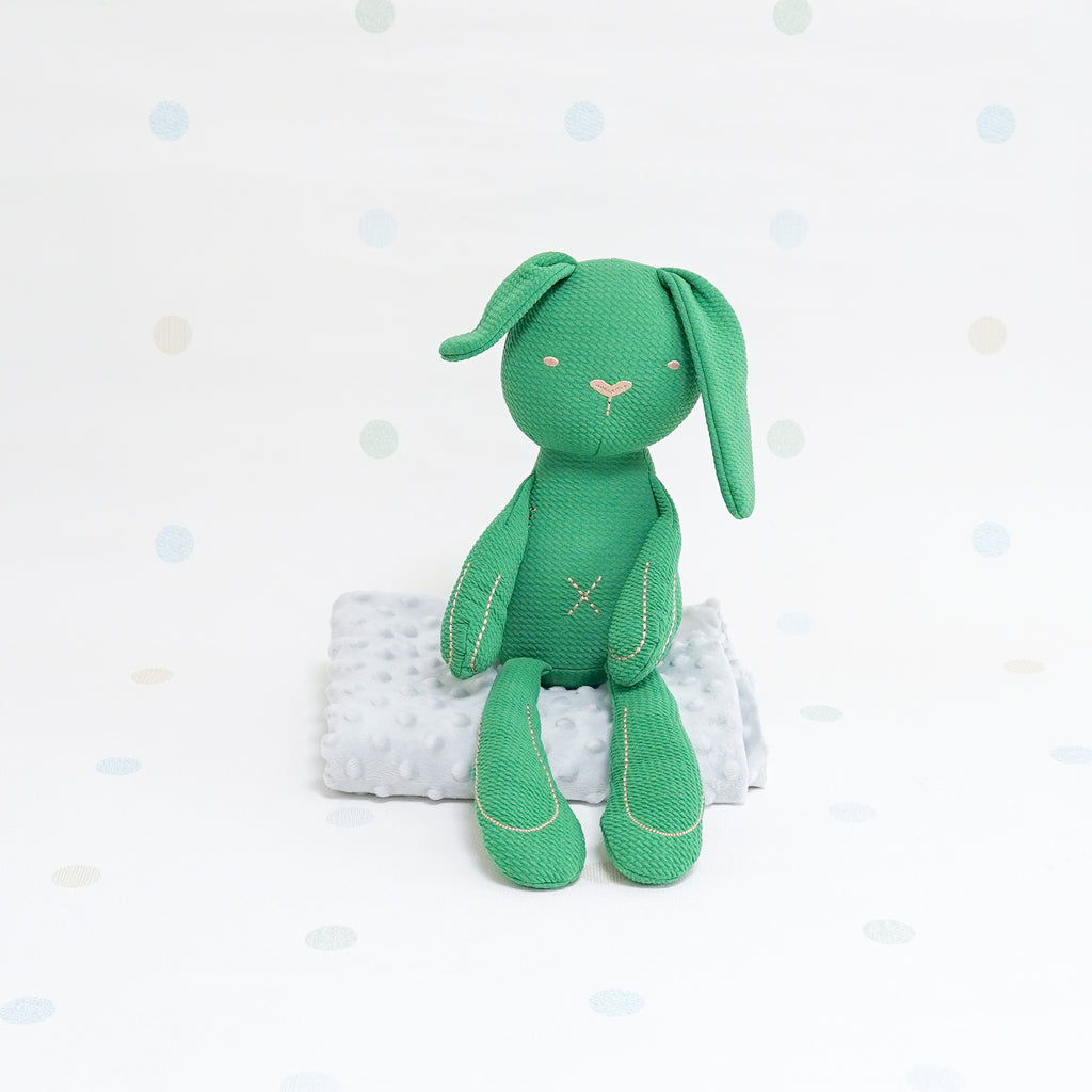 Sensory Cotton Bunny - Green