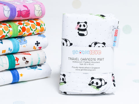 Waterproof Changing Mat - Baby Panda